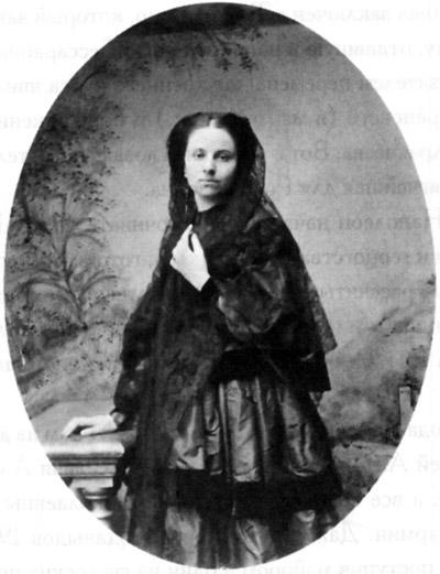 Елена Сергеевна Рахманова, урожденная Волконская Фотография 1850-хгг.