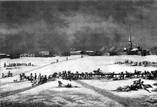 Петербург. Петропавловская крепость